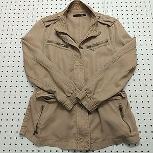 Max Jeans Light Weight Utility Jacket, Size Medium